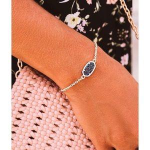 NWT Kendra Scott Elaina Gold Bracelet Multi Drusy